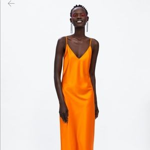 Brand new Zara slip dress